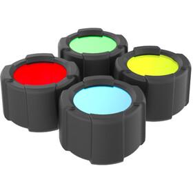 Ledlenser Color Filter Set 39mm, nero/colorato